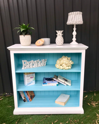 Turquoise Dream Bookshelf 📚