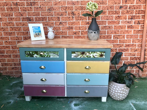 🌈Boho Beauty 8 Drawer Dresser🌈 - Available Now