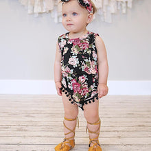 Adorable Floral One Piece - Cuddle Bandits