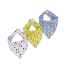 3 Piece Cartoon Baby Bibs - Cuddle Bandits