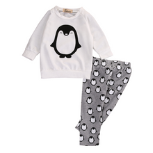 Penguin Pants And Shirt Set - Cuddle Bandits