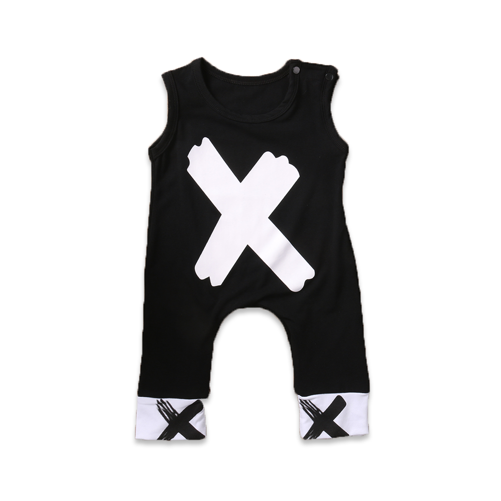 Sleeveless X Jumpsuit - Cuddle Bandits