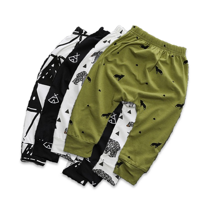 Funky Boys Cotton Pants - Cuddle Bandits