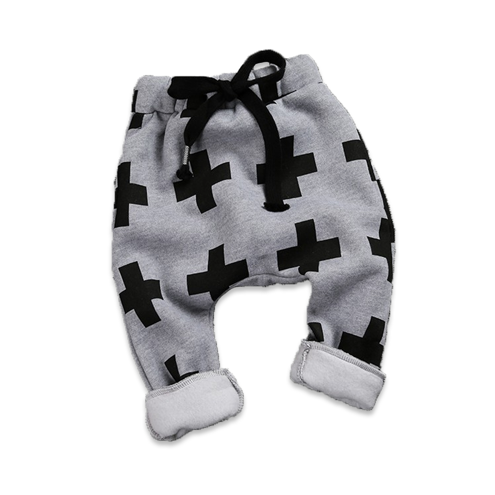 Boys Cross Harem Pants - Cuddle Bandits