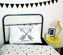 Bunny/Arrow Pillow Case - Cuddle Bandits