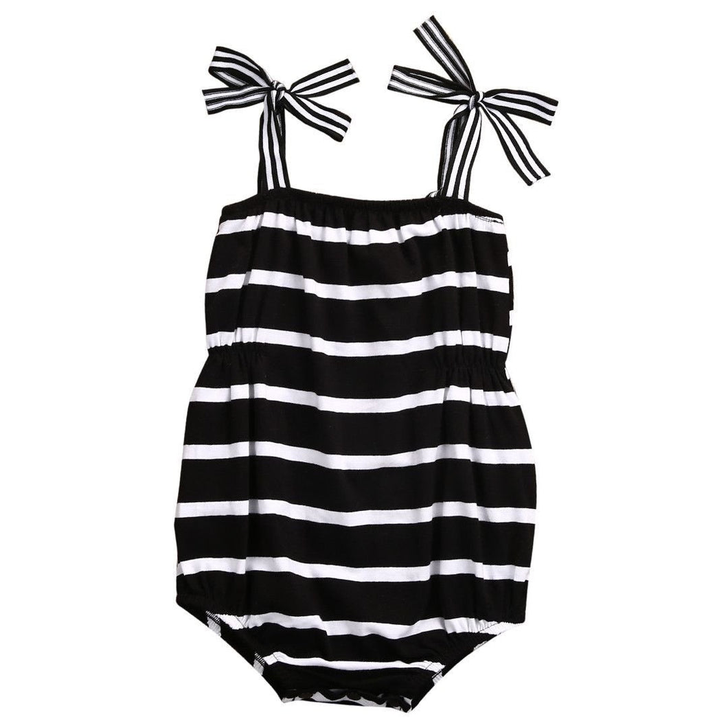 Striped Jumpsuit Outfit - Cuddle Bandits