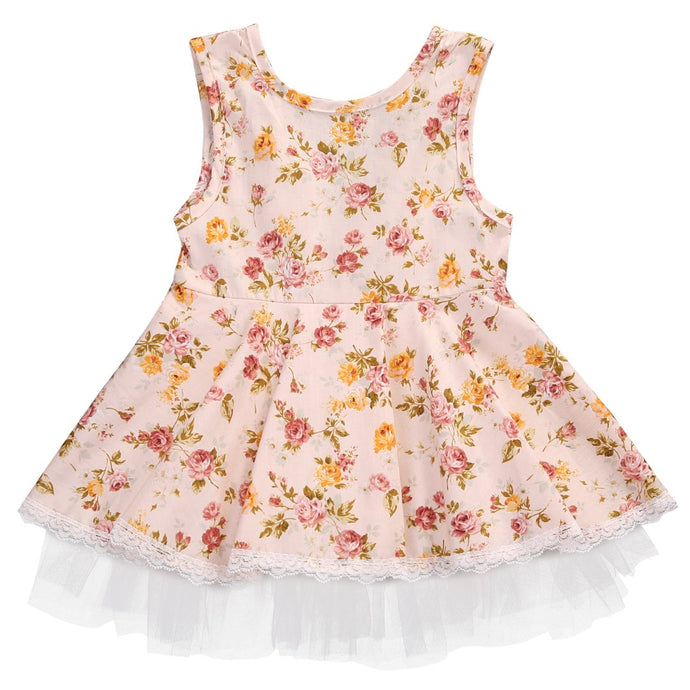 Floral Princess Dress - Cuddle Bandits