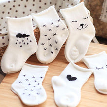Cute Baby & Toddler Socks (3 pack) - Cuddle Bandits