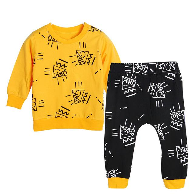 Cartoon Symbol 2 Piece Set - Cuddle Bandits