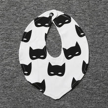 Monochrome Stylish Bibs - Cuddle Bandits