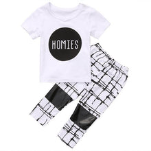 """Homies"" 2 Piece Cotton Set - Cuddle Bandits"