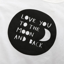 """Love You To The Moon And Back"" Baby Unisex Set - Cuddle Bandits"