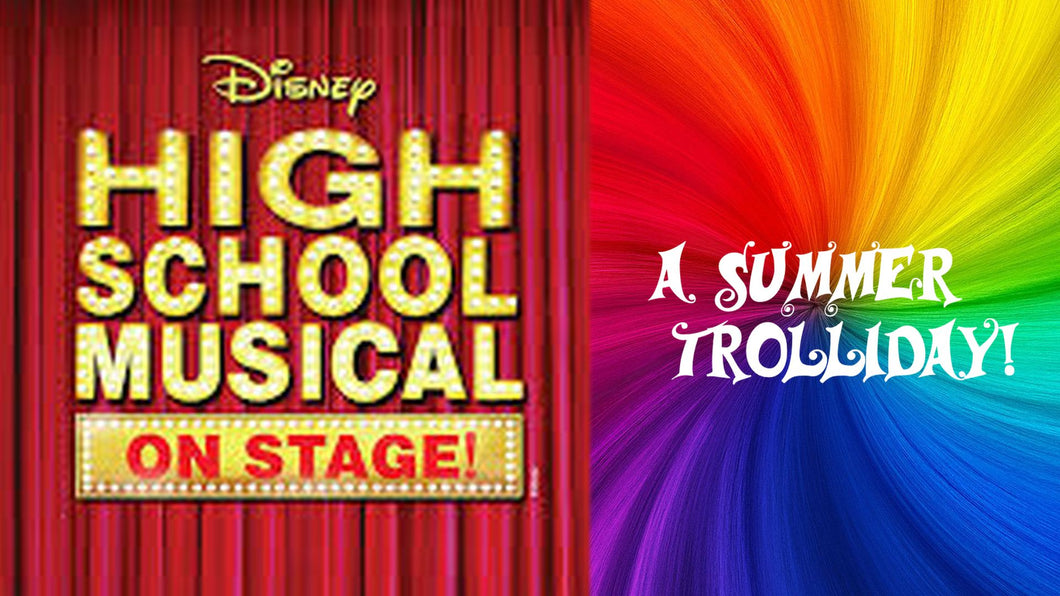 High School Musical & Summer Trolliday - Stagecoach Dulwich Summer Holiday Workshop 2018 - 3rd August (incl. P&P)