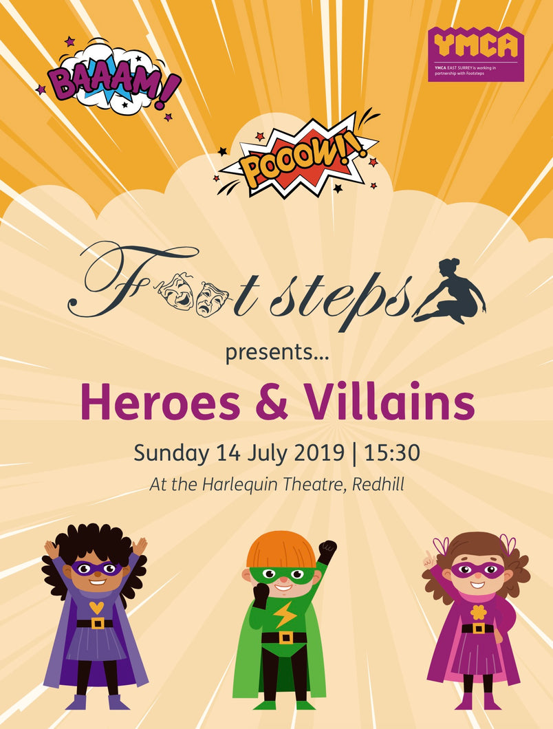 Footsteps - Heroes & Villains (with P&P)