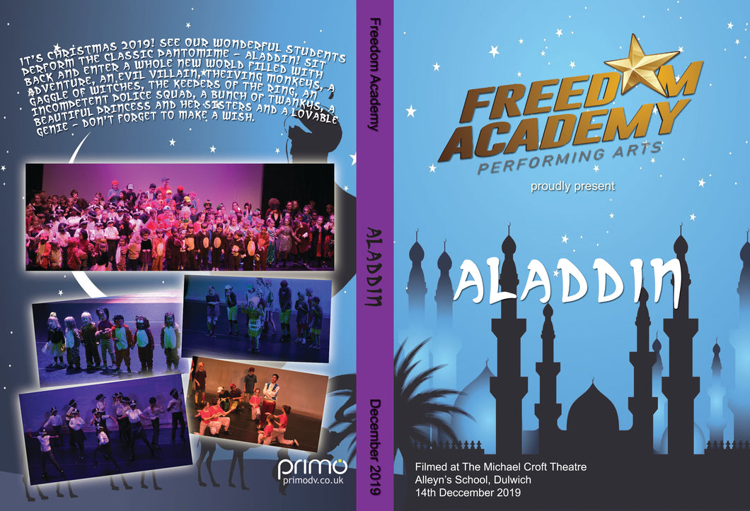 Freedom Academy's - ALADDIN (digital copy)