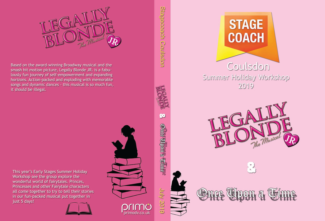 Stagecoach Coulsdon Summer holiday Workshop 2019 - Legally Blonde Jr & Once Upon a Time