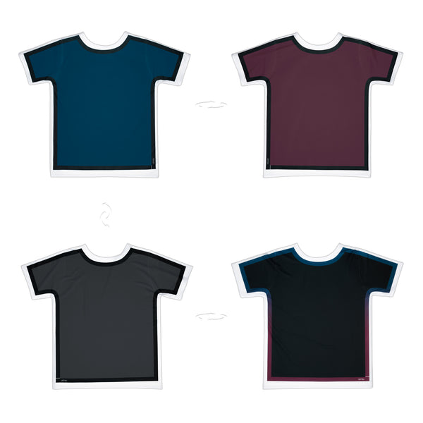 Dark Colours Outlined | Original T-Shirt 4 sides | Uztzu