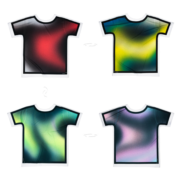Airbrushed BK Outlined | Original T-Shirt 4 sides | Uztzu