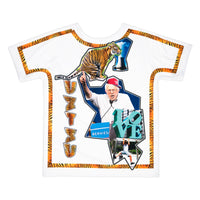 Bernie and the Tiger | Pop T-Shirt 4 lati | Uztzu
