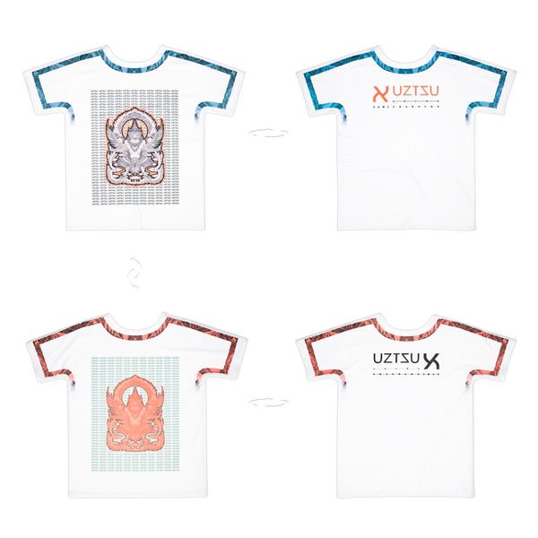 Hindu God Shyena | Pop T-Shirt 4 lati | Uztzu