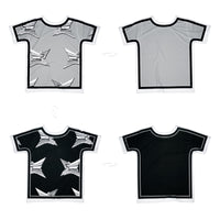 Star Geometry Outlined | T-Shirt Originale 4 lati | Uztzu