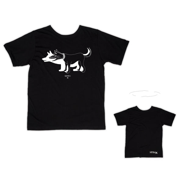 Dog Hands | T-Shirt Abes 2 sides | Uztzu - Uztzu Clothing - Shop Super 4X4 T-shirts, Pants and hoodies online!