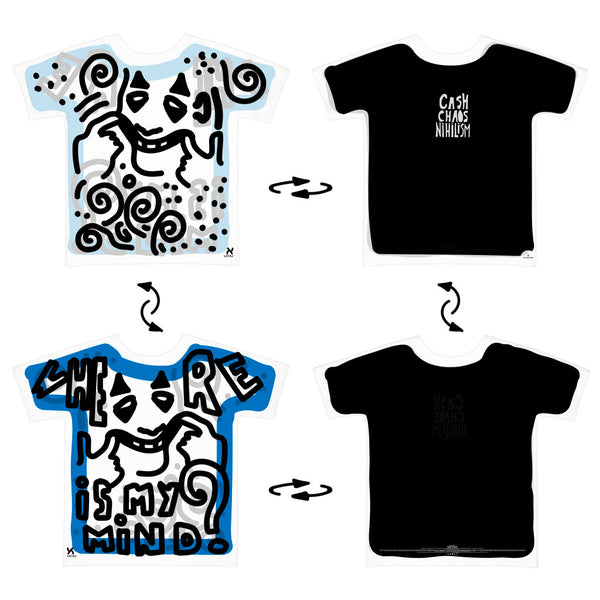 Super 4Way Reversible Where Is My Mind print t-shirt UZTZU® - Uztzu Clothing - Shop Super 4X4 T-shirts, Pants and hoodies online!