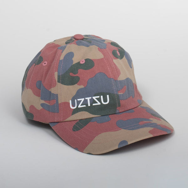 Cappello Logo Camo Dad Cap | Uztzu - Uztzu Clothing - Shop Super 4X4 T-shirts, Pants and hoodies online!