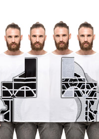 State Of Mind - UZTZU 4-Ways Reversible T-Shirts