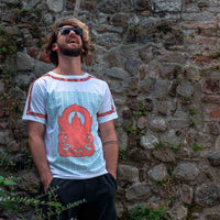 Hindu God Shyena | Pop T-Shirt 4 sides | Uztzu
