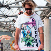 Weed to be Happy | Pop T-Shirt 4 sides | Uztzu