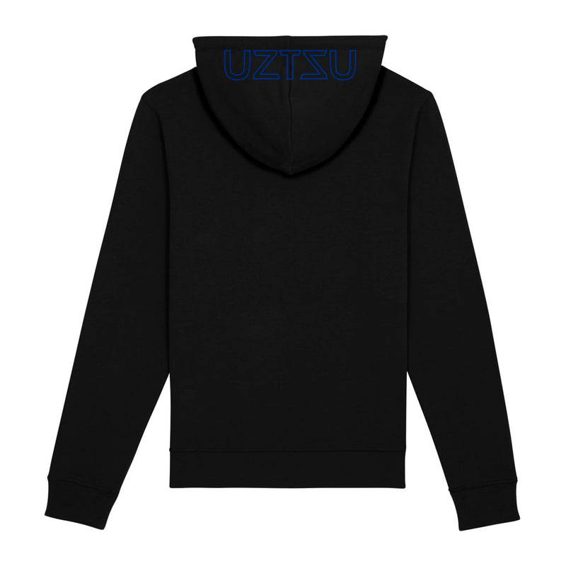 products/Uztzu-Hood-Logo-Blue-black-hooded-sweatshirt-back.jpg