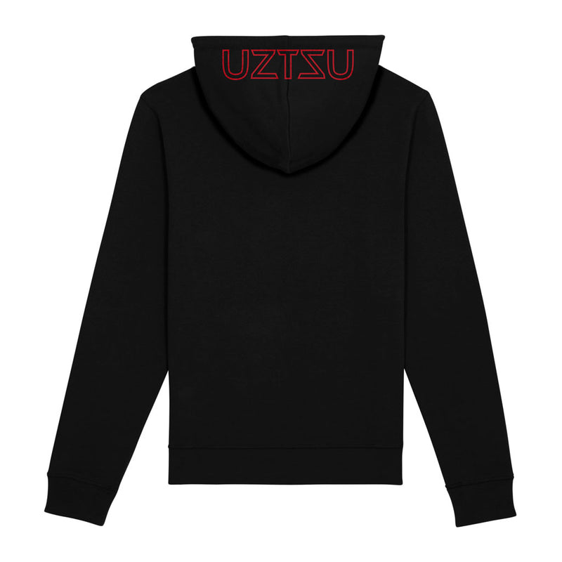 products/Uztzu-Hood-Logo-Red-black-hooded-sweatshirt-back.jpg