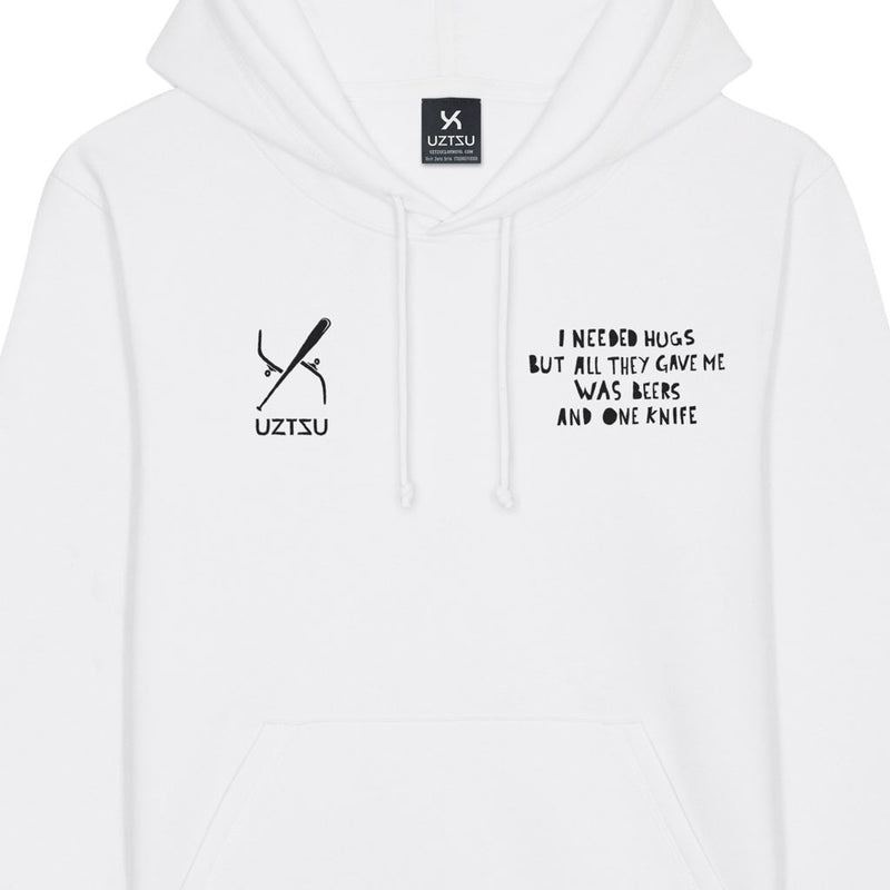 products/Uztzu-I-Needed-Hugz-Black-white-hooded-sweatshirt-front-detail.jpg