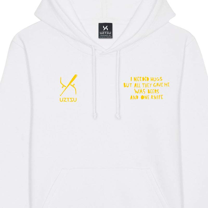 products/Uztzu-I-Needed-Hugz-Yellow-white-hooded-sweatshirt-front-detail.jpg