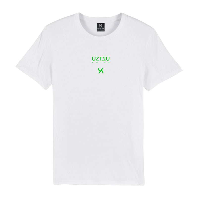products/Uztzu-Logo-Edition-Small-Green-white-standard-tshirt-front.jpg