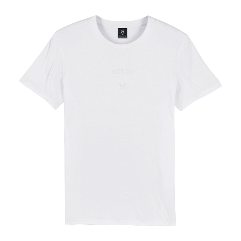 products/Uztzu-Logo-Edition-Small-White-white-standard-tshirt-front.jpg
