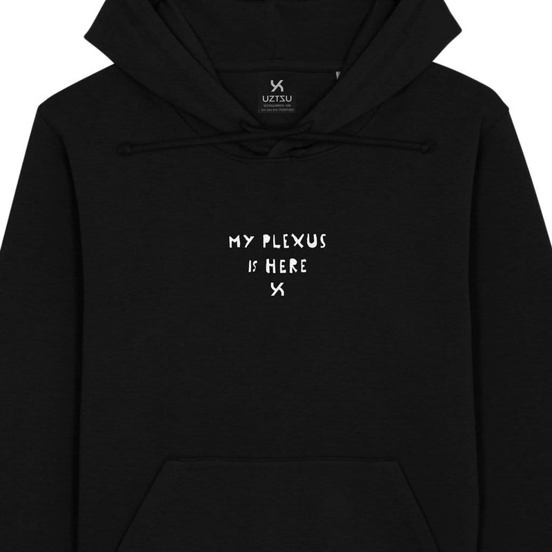 products/Uztzu-My-plexus-is-here-black-hooded-sweatshirt-front-detail.jpg