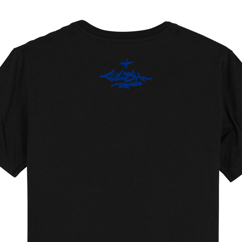 products/Uztzu-Uztzu_Fulish-Graffiti-tag-Blue-black-standard-tshirt-back-detail.jpg