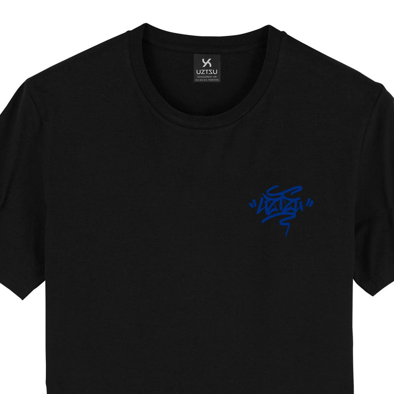 products/Uztzu-Uztzu_Fulish-Graffiti-tag-Blue-black-standard-tshirt-front-detail.jpg