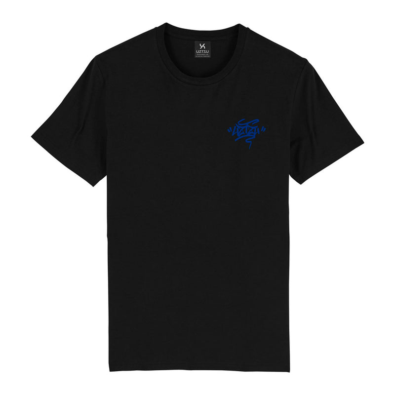 products/Uztzu-Uztzu_Fulish-Graffiti-tag-Blue-black-standard-tshirt-front.jpg