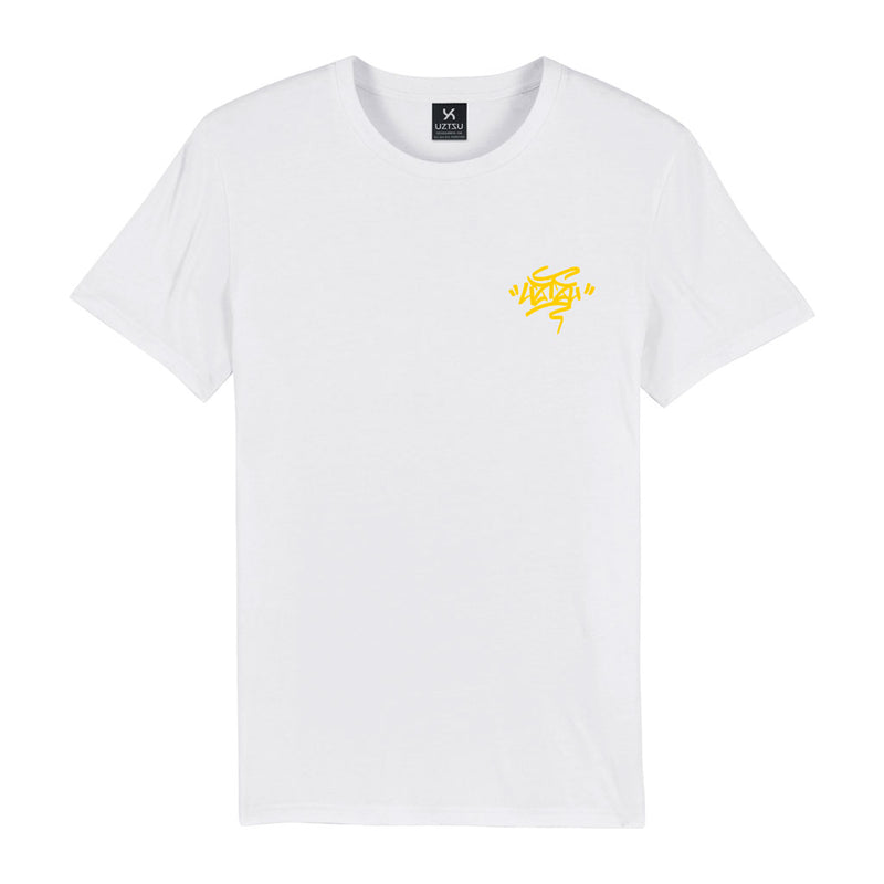 products/Uztzu-Uztzu_Fulish-Graffiti-tag-Yellow-white-standard-tshirt-front.jpg