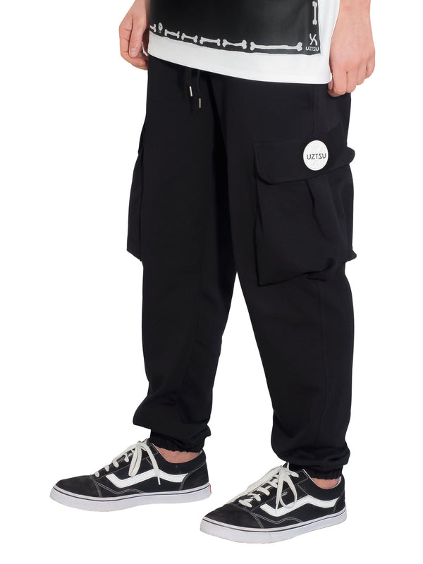 Black Cargo Jogger Sweatpant UZTZU® - Uztzu Clothing - Shop Super 4X4 T-shirts, Pants and hoodies online!