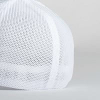 Cappello Logo White & Gray Baseball Trucker | Uztzu