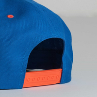 Cappello Emblem Blue & Orange Classic Snapback | Uztzu