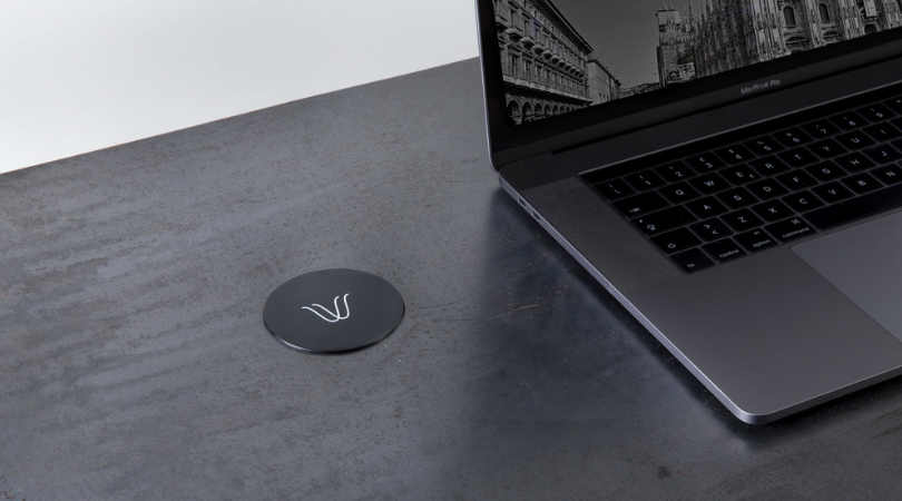 The convenient wireless charger arrives in your furniture