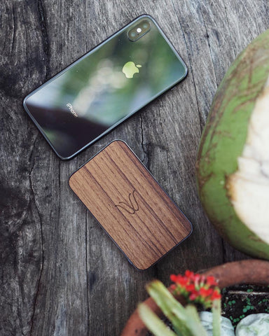 Woodie Wireless Power Bank Summer