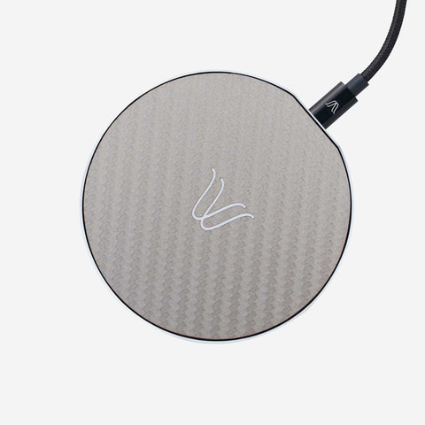 Solo Wireless Charger –  Carbon Look Ash