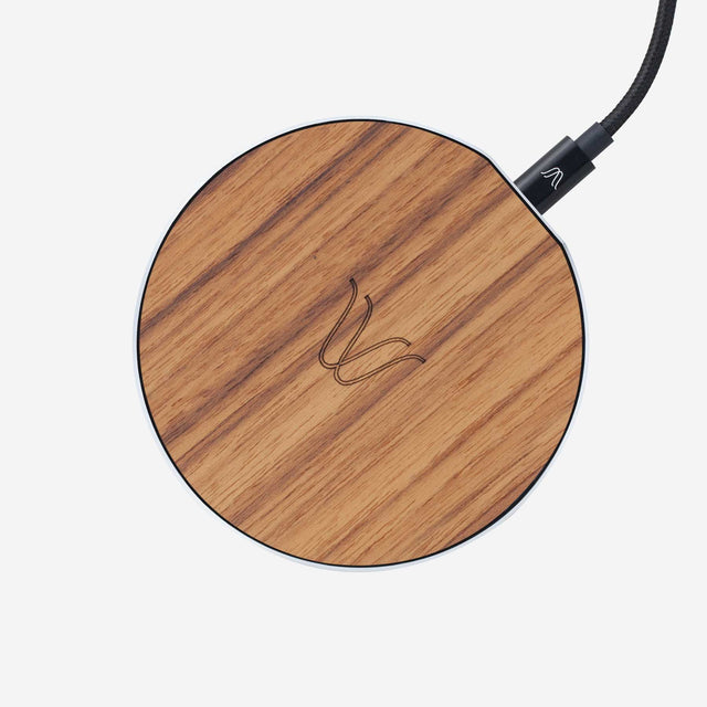 Solo Wireless Charger – Teak