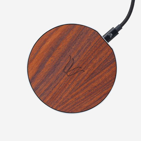 Solo Wireless Charger – Rosewood